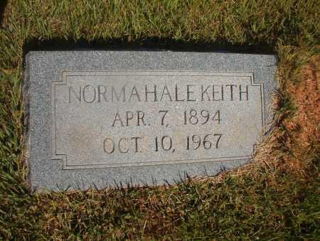 HALE KEITH, NORMA - Ouachita County, Arkansas   NORMA HALE KEITH - Arkansas Gravestone Photos