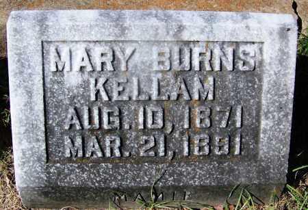 KELLAM, MARY - Ouachita County, Arkansas | MARY KELLAM - Arkansas Gravestone Photos