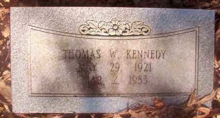 KENNEDY, THOMAS W - Ouachita County, Arkansas   THOMAS W KENNEDY - Arkansas Gravestone Photos