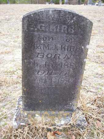 KIRBY, E.Q. - Ouachita County, Arkansas | E.Q. KIRBY - Arkansas Gravestone Photos