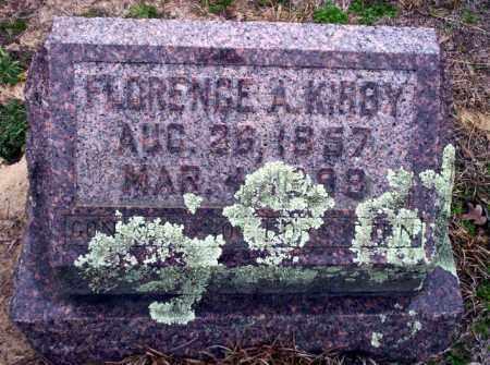 KIRBY, FLORENCE A - Ouachita County, Arkansas | FLORENCE A KIRBY - Arkansas Gravestone Photos