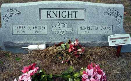 KNIGHT, HENRIETTA - Ouachita County, Arkansas | HENRIETTA KNIGHT - Arkansas Gravestone Photos