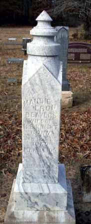KNIGHT, MAUDIE ERON - Ouachita County, Arkansas | MAUDIE ERON KNIGHT - Arkansas Gravestone Photos