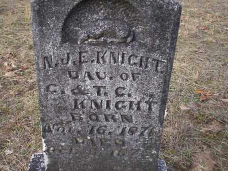 KNIGHT, N.J.E. - Ouachita County, Arkansas | N.J.E. KNIGHT - Arkansas Gravestone Photos