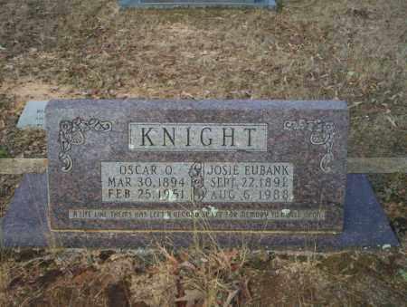 KNIGHT, OSCAR O - Ouachita County, Arkansas | OSCAR O KNIGHT - Arkansas Gravestone Photos