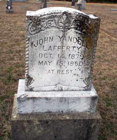 LAFFERTY, JOHN YANDELL - Ouachita County, Arkansas | JOHN YANDELL LAFFERTY - Arkansas Gravestone Photos
