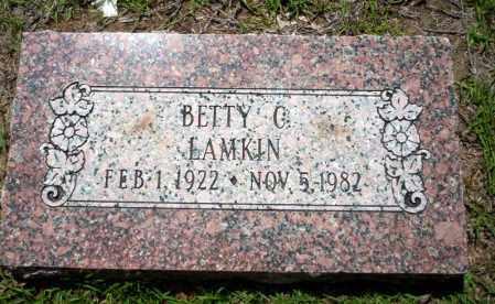 LAMKIN, BETTY G. - Ouachita County, Arkansas | BETTY G. LAMKIN - Arkansas Gravestone Photos