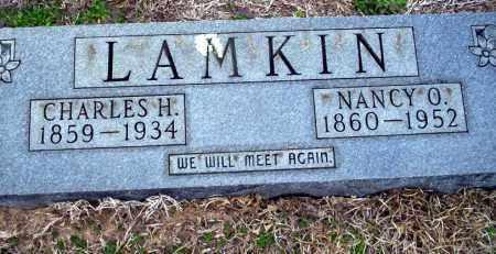 LAMKIN, NANCY O - Ouachita County, Arkansas | NANCY O LAMKIN - Arkansas Gravestone Photos