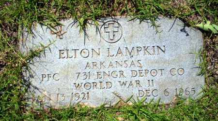 LAMPKIN  (VETERAN WWII), ELTON - Ouachita County, Arkansas | ELTON LAMPKIN  (VETERAN WWII) - Arkansas Gravestone Photos
