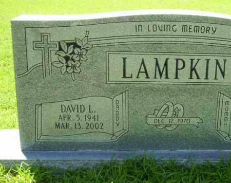 LAMPKIN, DAVID L. - Ouachita County, Arkansas   DAVID L. LAMPKIN - Arkansas Gravestone Photos