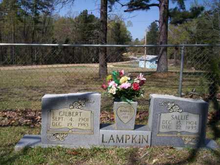 LAMPKIN, SALLIE - Ouachita County, Arkansas | SALLIE LAMPKIN - Arkansas Gravestone Photos