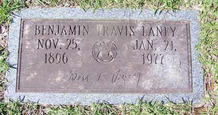 LANEY, BENJAMIN TRAVIS - Ouachita County, Arkansas | BENJAMIN TRAVIS LANEY - Arkansas Gravestone Photos