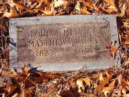 LANEY, LOUISA MELVINA - Ouachita County, Arkansas | LOUISA MELVINA LANEY - Arkansas Gravestone Photos