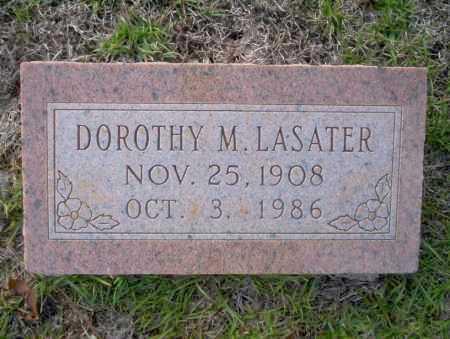 LASATER, DOROTHY M - Ouachita County, Arkansas   DOROTHY M LASATER - Arkansas Gravestone Photos