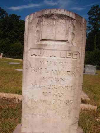 LAWLER, ALLA LEE - Ouachita County, Arkansas | ALLA LEE LAWLER - Arkansas Gravestone Photos