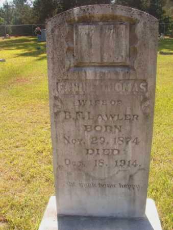 THOMAS LAWLER, FANNIE - Ouachita County, Arkansas | FANNIE THOMAS LAWLER - Arkansas Gravestone Photos