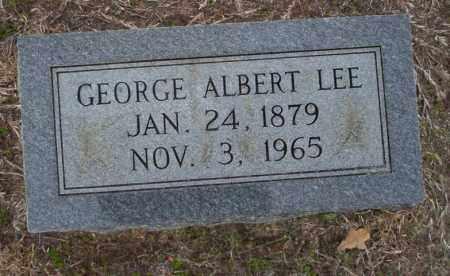 LEE, GEORGE ALBERT - Ouachita County, Arkansas   GEORGE ALBERT LEE - Arkansas Gravestone Photos
