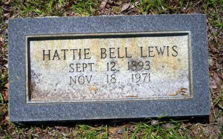 BELL LEWIS, HATTIE - Ouachita County, Arkansas | HATTIE BELL LEWIS - Arkansas Gravestone Photos
