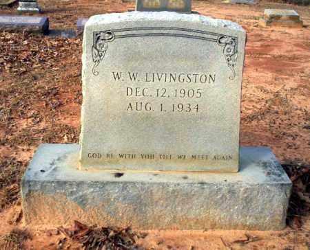 LIVINGSTON, W.W. - Ouachita County, Arkansas | W.W. LIVINGSTON - Arkansas Gravestone Photos