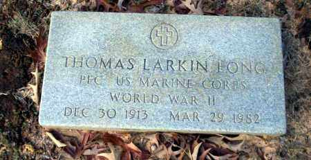 LONG  (VETERAN WWII), THOMAS LARKIN - Ouachita County, Arkansas | THOMAS LARKIN LONG  (VETERAN WWII) - Arkansas Gravestone Photos