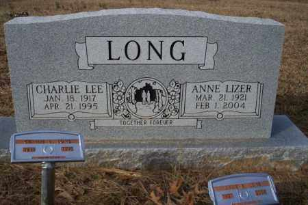 LONG, ANNE LIZER - Ouachita County, Arkansas | ANNE LIZER LONG - Arkansas Gravestone Photos