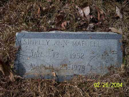 MAFUELL, SHIRLEY ANN - Ouachita County, Arkansas | SHIRLEY ANN MAFUELL - Arkansas Gravestone Photos