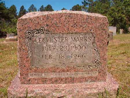 MARKS, LEEVESTER - Ouachita County, Arkansas   LEEVESTER MARKS - Arkansas Gravestone Photos