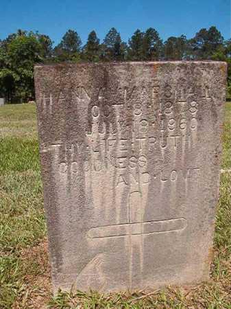 MARSHALL, HANNA - Ouachita County, Arkansas   HANNA MARSHALL - Arkansas Gravestone Photos