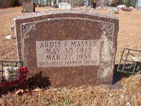 MASSEY, ARDIS F - Ouachita County, Arkansas | ARDIS F MASSEY - Arkansas Gravestone Photos