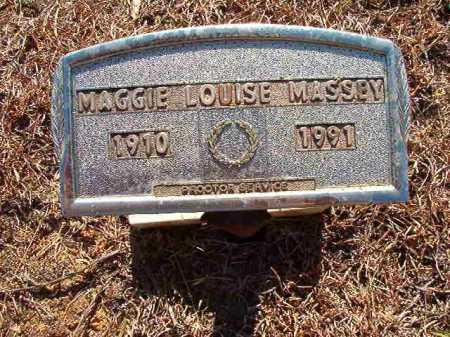 MASSEY, MAGGIE LOUISE - Ouachita County, Arkansas | MAGGIE LOUISE MASSEY - Arkansas Gravestone Photos
