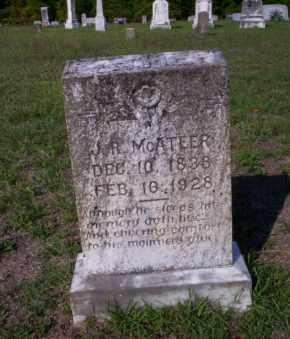 MCATEER, J.R. - Ouachita County, Arkansas | J.R. MCATEER - Arkansas Gravestone Photos