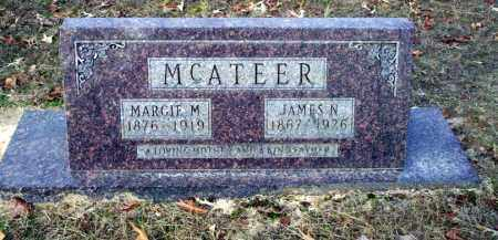 MCATEER, JAMES N - Ouachita County, Arkansas | JAMES N MCATEER - Arkansas Gravestone Photos
