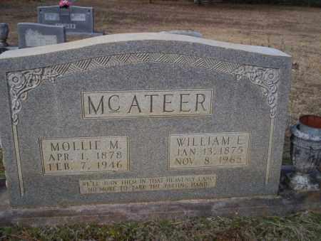 MCATEER, WILLIAM E - Ouachita County, Arkansas | WILLIAM E MCATEER - Arkansas Gravestone Photos