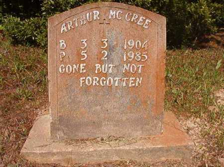 MCCREE, ARTHUR - Ouachita County, Arkansas | ARTHUR MCCREE - Arkansas Gravestone Photos
