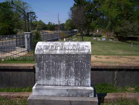 MCDONALD, MARY ELIZABETH - Ouachita County, Arkansas | MARY ELIZABETH MCDONALD - Arkansas Gravestone Photos