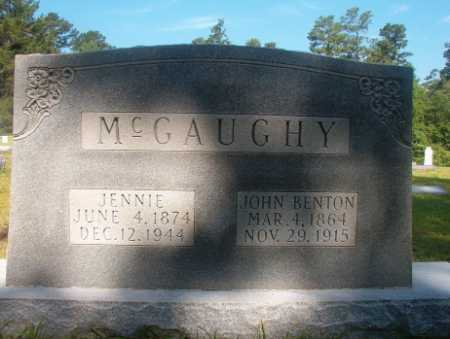 MCGAUGHY, JOHN BENTON - Ouachita County, Arkansas | JOHN BENTON MCGAUGHY - Arkansas Gravestone Photos
