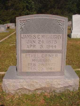 CRINER MCGAUGHY, ETHEL - Ouachita County, Arkansas | ETHEL CRINER MCGAUGHY - Arkansas Gravestone Photos