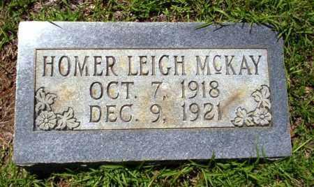 MCKAY, HOMER LEIGH - Ouachita County, Arkansas | HOMER LEIGH MCKAY - Arkansas Gravestone Photos