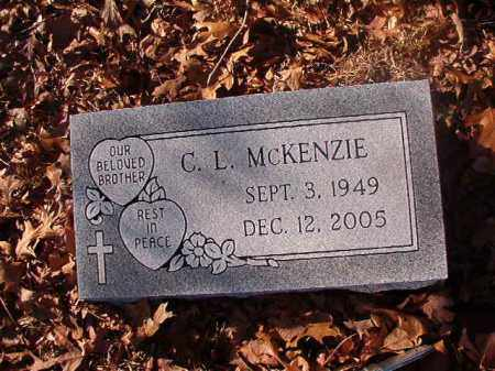 MCKENZIE, C L - Ouachita County, Arkansas | C L MCKENZIE - Arkansas Gravestone Photos
