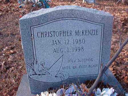 MCKENZIE, CHRISTOPHER - Ouachita County, Arkansas   CHRISTOPHER MCKENZIE - Arkansas Gravestone Photos