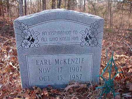 MCKENZIE, EARL - Ouachita County, Arkansas | EARL MCKENZIE - Arkansas Gravestone Photos