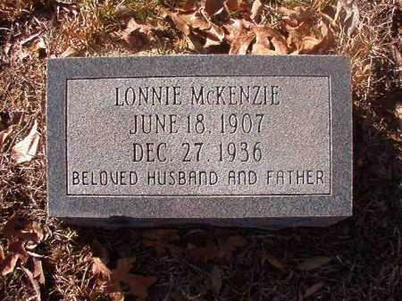 MCKENZIE, LONNIE - Ouachita County, Arkansas | LONNIE MCKENZIE - Arkansas Gravestone Photos