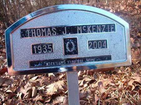 MCKENZIE, THOMAS J - Ouachita County, Arkansas | THOMAS J MCKENZIE - Arkansas Gravestone Photos