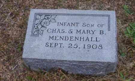 MENDENHALL, INFANT SON - Ouachita County, Arkansas | INFANT SON MENDENHALL - Arkansas Gravestone Photos