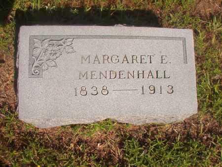 MENDENHALL, MARGARET E - Ouachita County, Arkansas | MARGARET E MENDENHALL - Arkansas Gravestone Photos
