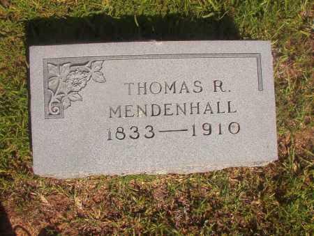 MENDENHALL, THOMAS R - Ouachita County, Arkansas   THOMAS R MENDENHALL - Arkansas Gravestone Photos