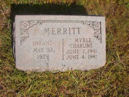 MERRITT, INFANT - Ouachita County, Arkansas | INFANT MERRITT - Arkansas Gravestone Photos