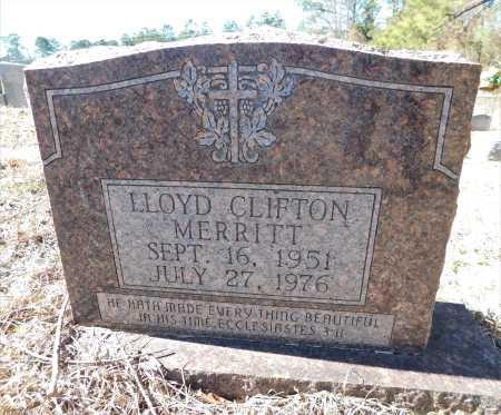 MERRITT, LLOYD CLIFTON - Ouachita County, Arkansas | LLOYD CLIFTON MERRITT - Arkansas Gravestone Photos