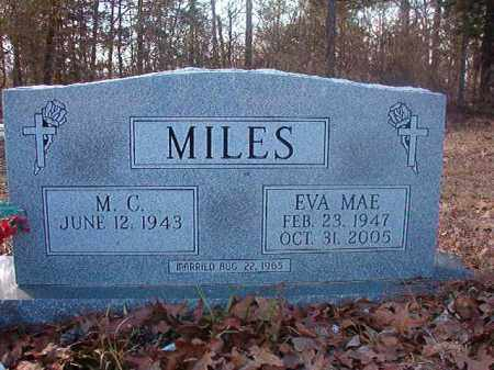 MILES, EVA MAE - Ouachita County, Arkansas | EVA MAE MILES - Arkansas Gravestone Photos