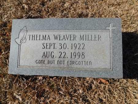 WEAVER MILLER, THELMA - Ouachita County, Arkansas | THELMA WEAVER MILLER - Arkansas Gravestone Photos